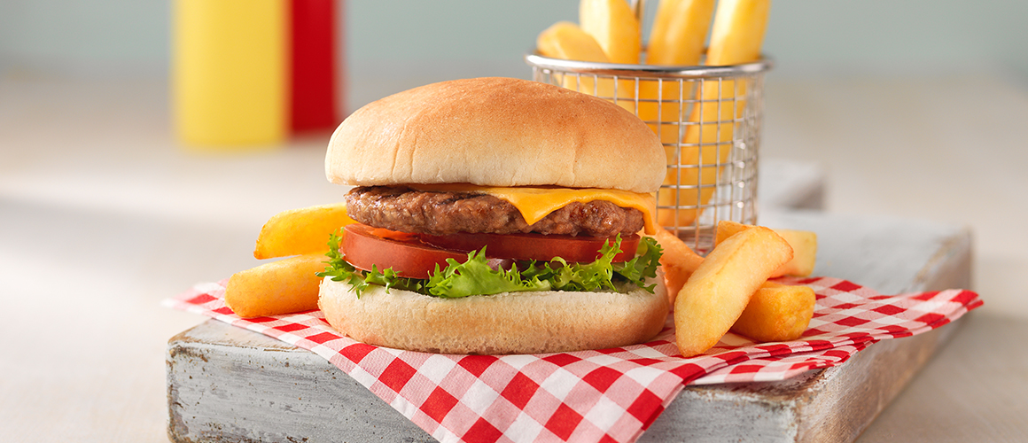 Chip Meals – Cheese Burger